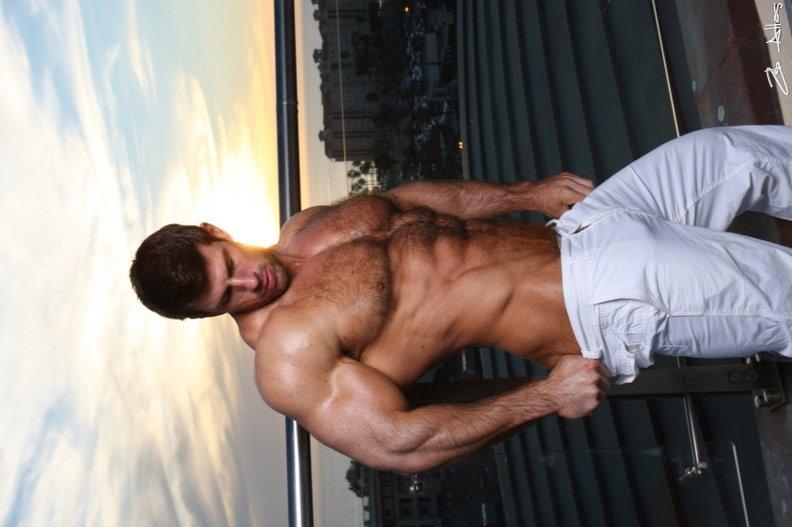 Erotic nude wrestling